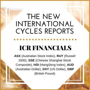 Monthly International Cycles Report: Financials